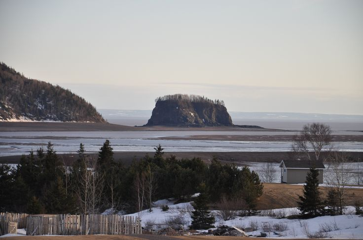 5 islands along the Bay Of Fundy shores