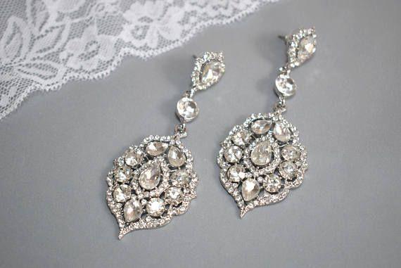 Wedding earring Drop Dangle Earring Wedding Earring Vintage