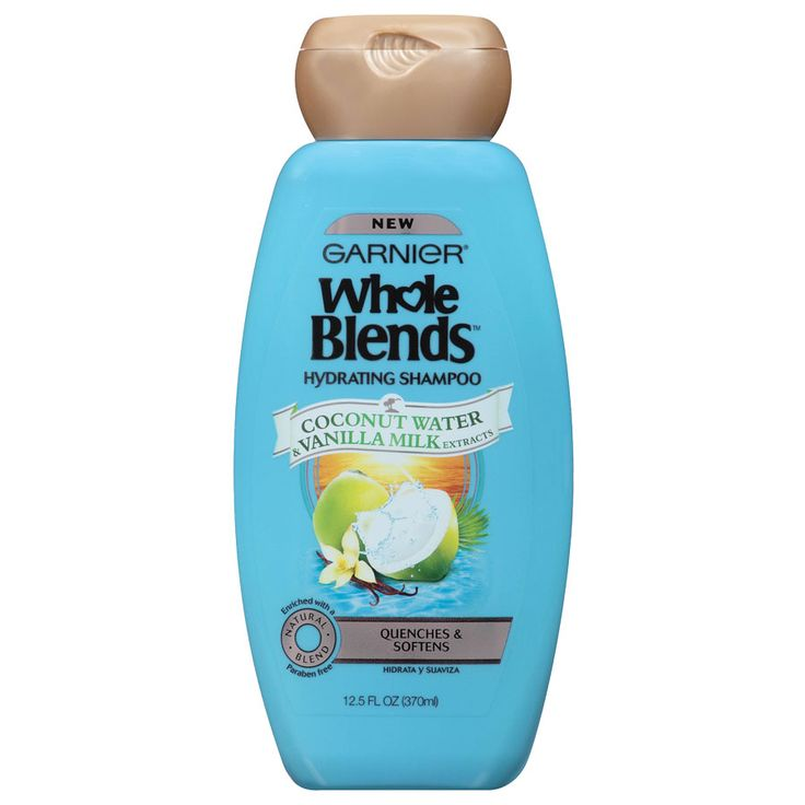 The Best Drugstore Shampoos for Dry, Brittle Hair - Garnier Whole Blends Coconut Water