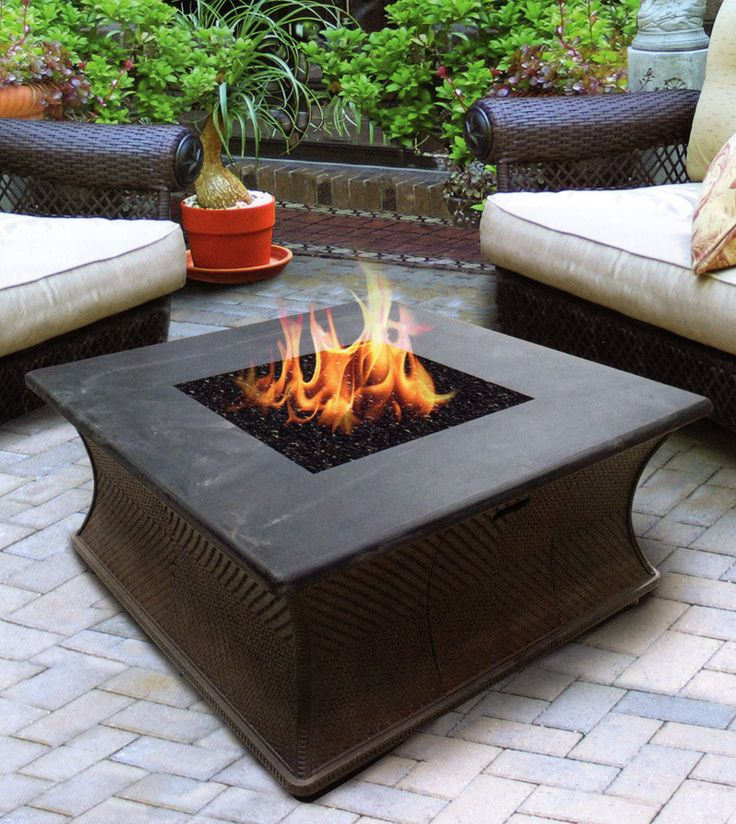The San Diego Collection Chat Height Fire Pit Table