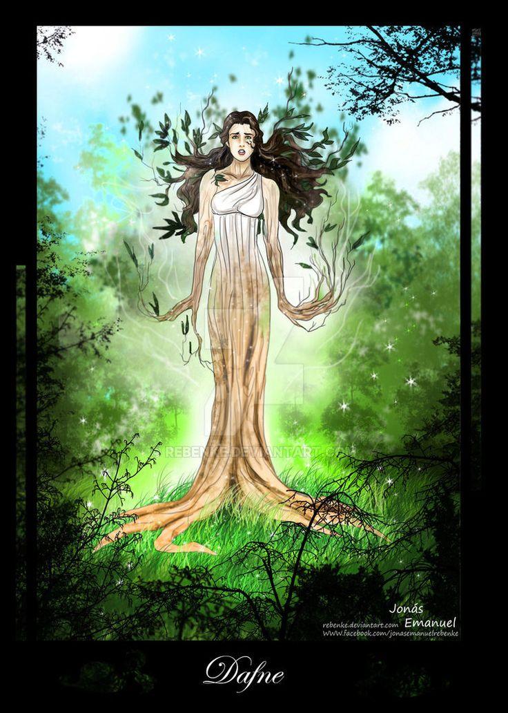 Mito de Dafne y Apolo, versión rebenke, I II III IV V VI VII VIII IX X XI Final