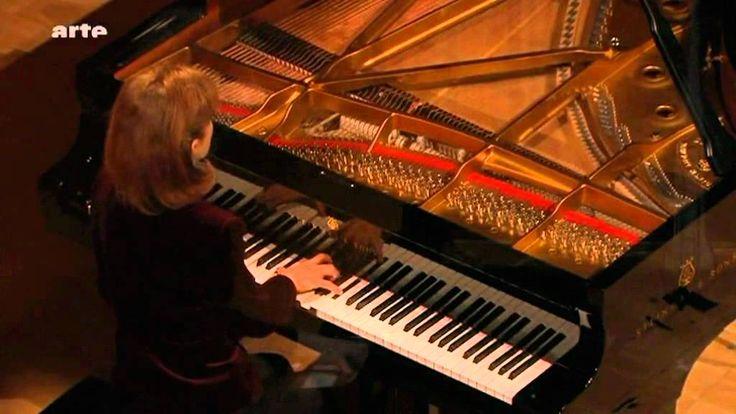"J.S. Bach - Piano: Anne Queffélec  - BWV 639 ""Ich ruf zu dir Herr Jesu C..."