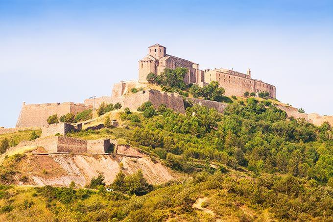 Castillo de Cardona Cataluña