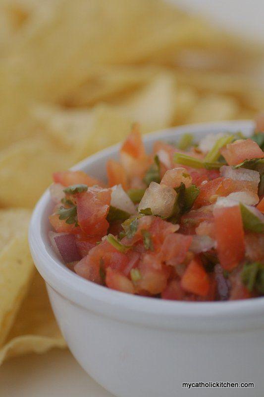 salsa fresca salsa pesto fresh salsa special recipes appetizer recipes ...