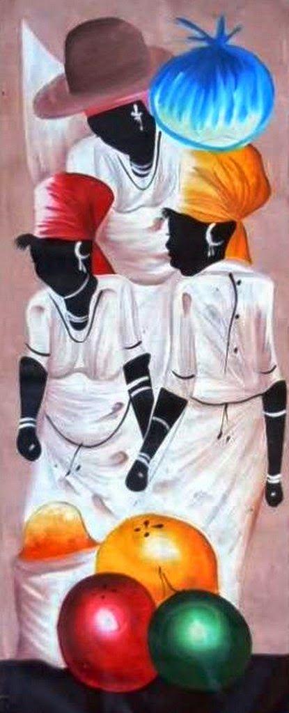 46 best arte africano images on pinterest african art - Cuadros para pintar ...