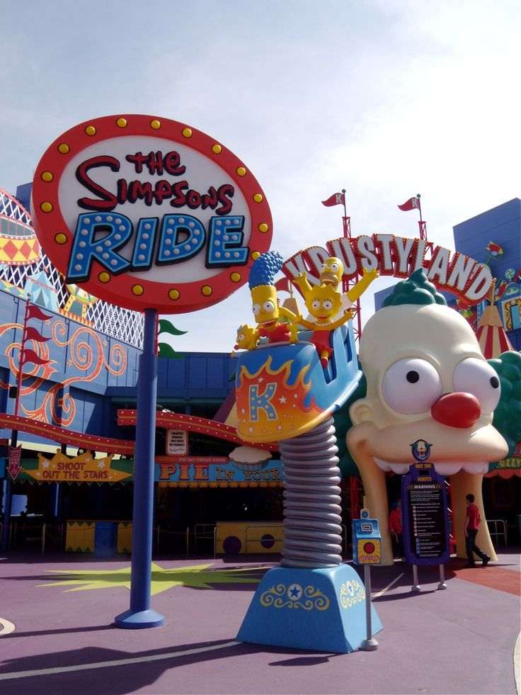 Krustyland, Universal Studios Hollywood, LA, California