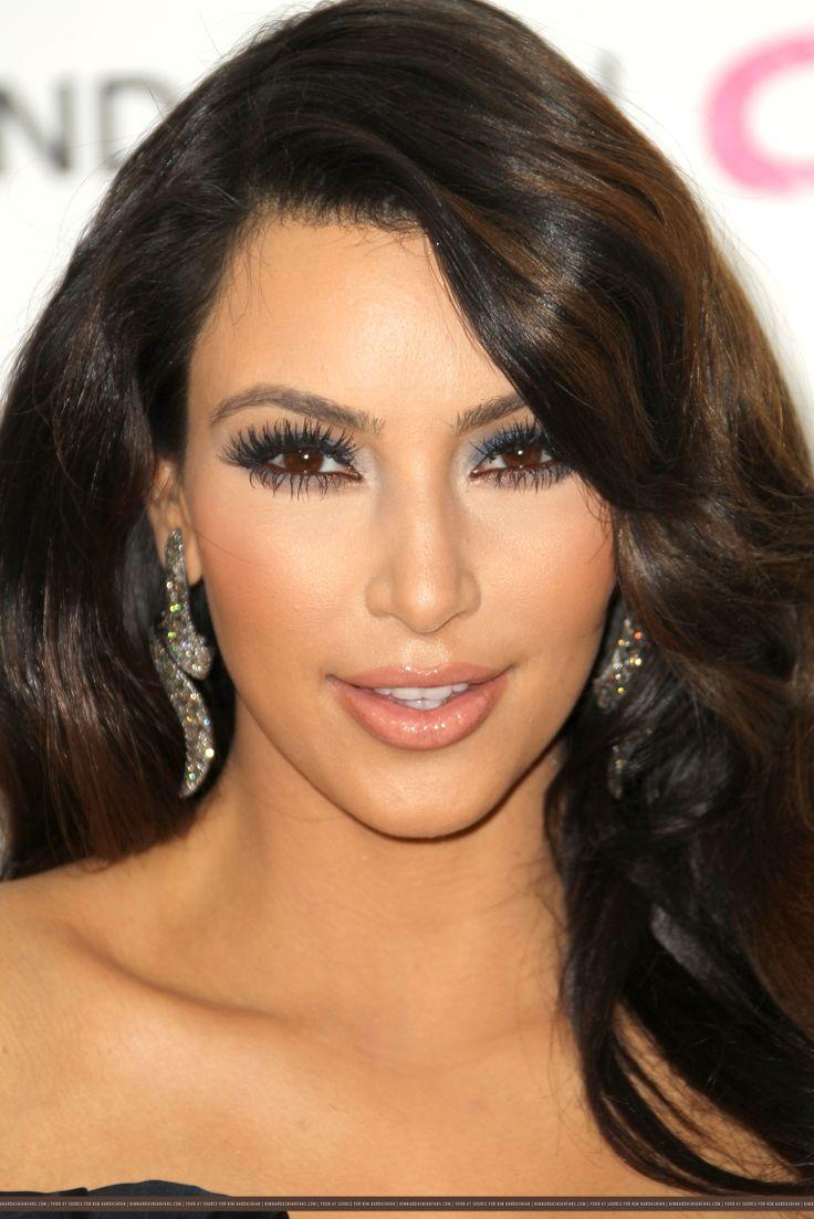 blue eye makeup kim kardashian | Looks - Makeup - Blue ...
