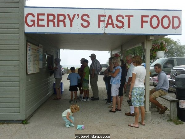 Southampton, Ontario. Probably the best salt and vinegar fries in the world.