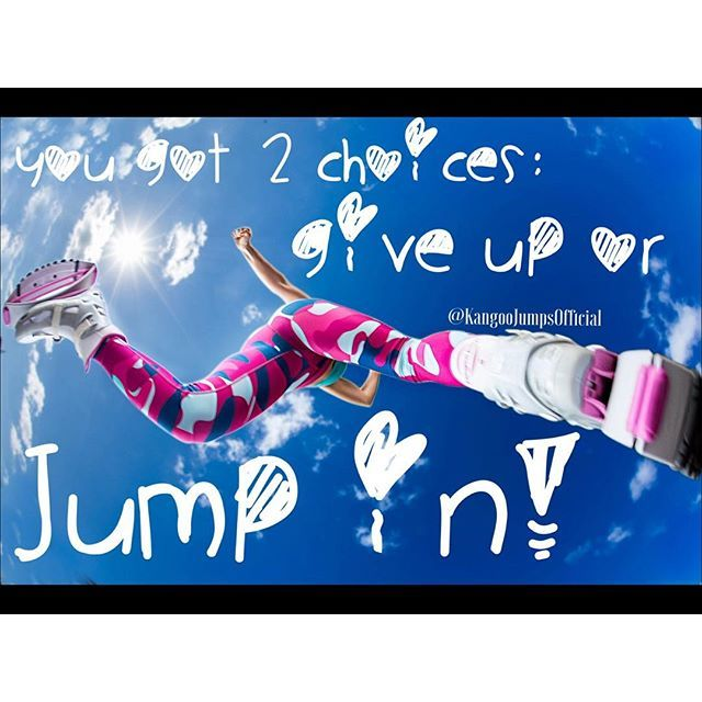 Which will you #choose? #Kangoojumps #kangoo #jumps #fitnessfriday #fitness…