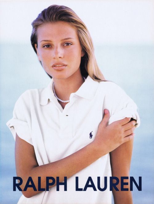 Ralph Lauren 1995 Campaign | Bridget Hall