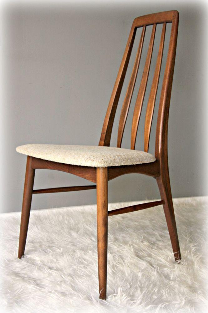 Koefoeds Hornslet Danish Modern Teak Dining Chair Teak