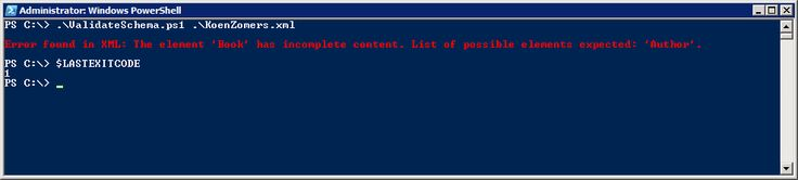 Validating XML against XSD with Powershell. Incorporating Read-Host for validation against values when entered in the read-host by the end user