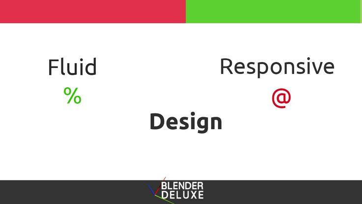 Entendiendo Fluid y Responsive design