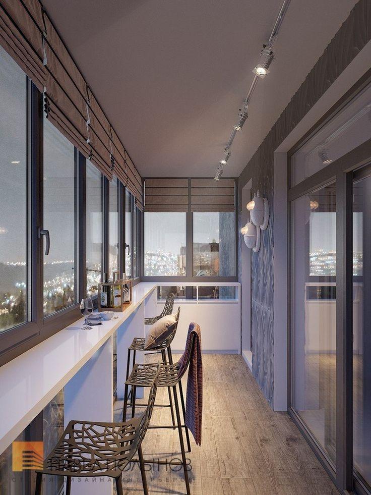 Фото интерьер лоджии из проекта «Лоджии, балконы, террасы »