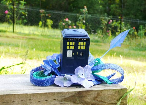 Doctor Who Tardis Fascinator.
