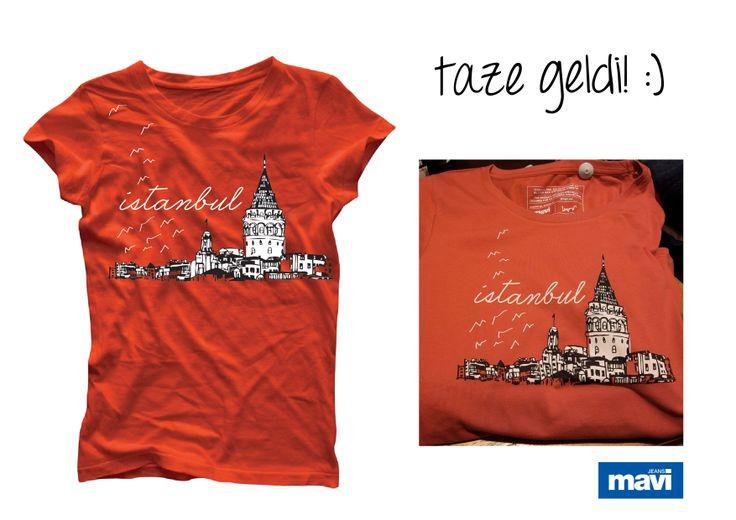#mavijeans,#galata, #tshirt