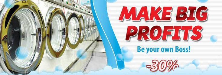Laundromat Calculator  http://laundryowner.com/