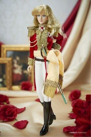 Pre-Orders Begin Soon For Takara Tomy's Rose of Versailles Lady Oscar Doll - Interest - Daily Anime News