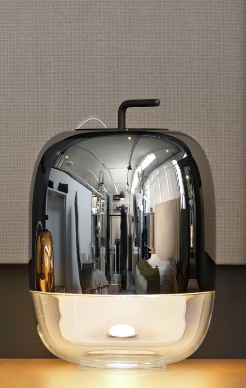 Prandina Gong T1: Durch Die Besondere Kapselform Und Das Hochwertige Design  Ist Die Tischleuchte Ein Schmuckstück Der Ganz Besonderen Art. Ob Auf Einem  ...