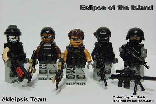 Lego special forces team!