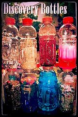 Huge list of ideas to make sensory bottles! Make with older kids,