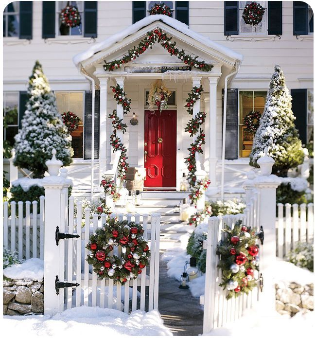 Decorating the outside