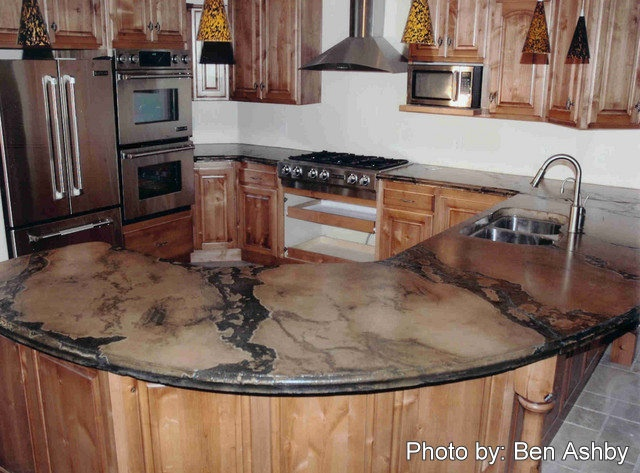 48 best molded in sinks images on pinterest sinks for Polished concrete kitchen countertops