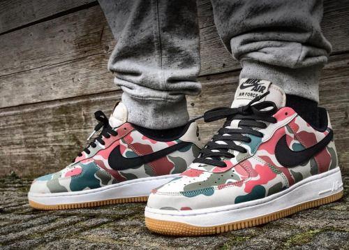 Nehmen Billig Billig Schuhe Deal Nike Foamposite Eins tree Camo Custom