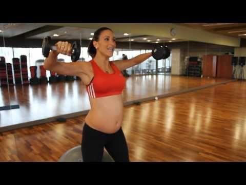 Ejercicio piernas y glúteos apto para embarazadas,segundo trimestre - YouTube