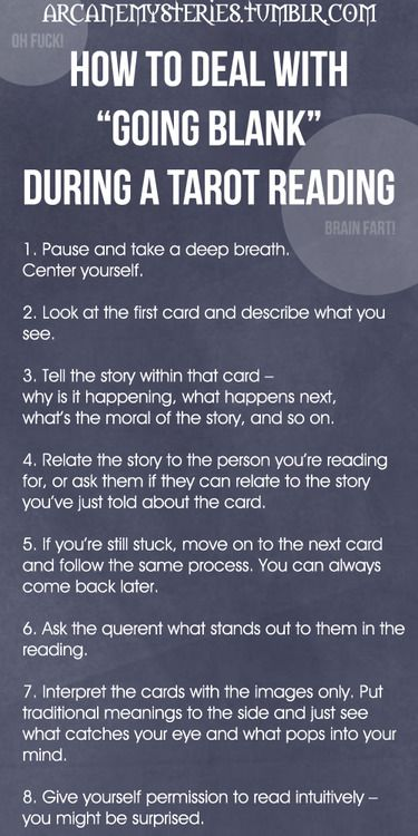 Tarot Tips Http://arcanemysteries.tumblr.com/ How To Deal
