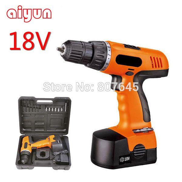18V Cordless Drill super power tools electric drill pistol drill electric screwdriver