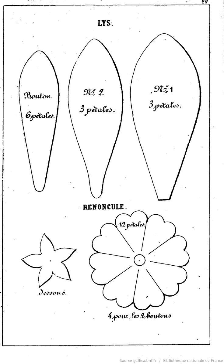 Les 17 meilleures id es de la cat gorie fleurs en papier g antes sur pinterest fleurs en - Modele de fleurs en papier ...