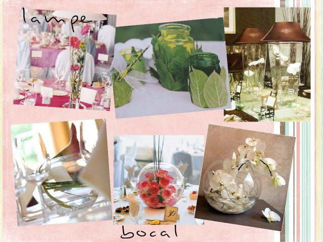 84 best id es d co mariage images on pinterest vera wang for Vase plat centre de table