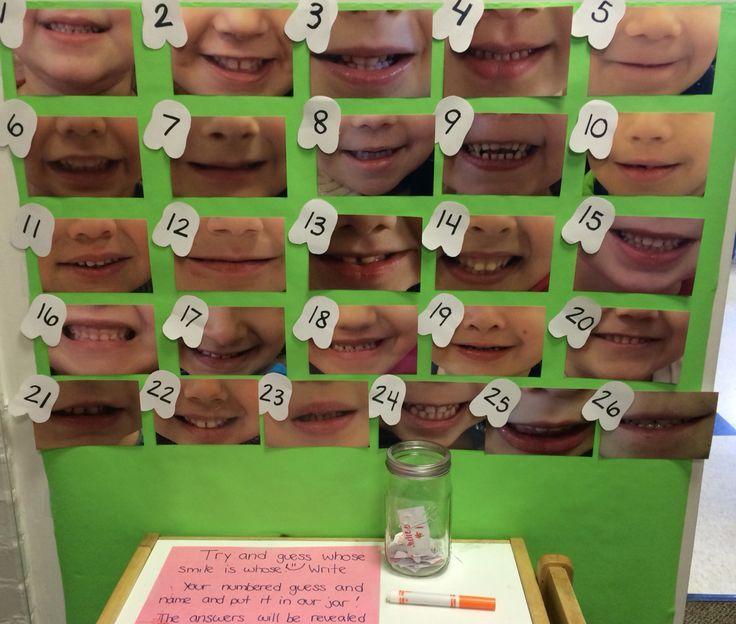 Guess whose smile for preschool dental health week