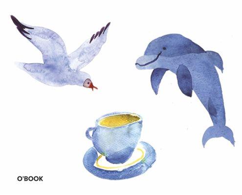 Иллюстрация к журналу Макулатура (акварель)