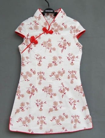 Floral Girl Cheongsam / Qipao / Chinese Dress