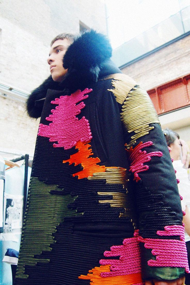 Central Saint Martins BA Fashion show