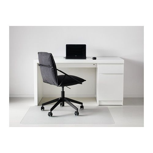 malm desk white malm and desks. Black Bedroom Furniture Sets. Home Design Ideas