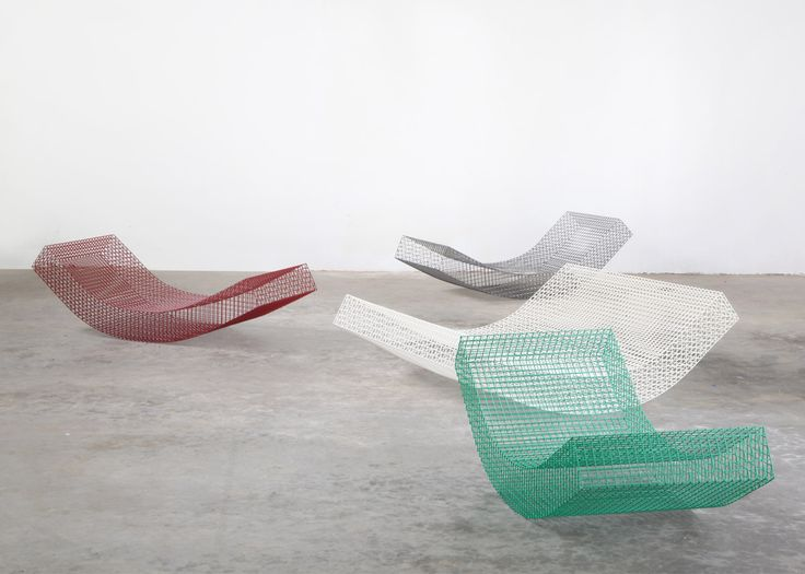 Des transats en transparence   Artibazar- blog mobilier design.
