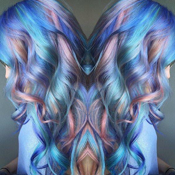 Multi-tonal magic by @samploskonka. #modernsalon #haircolor #hairinspiration