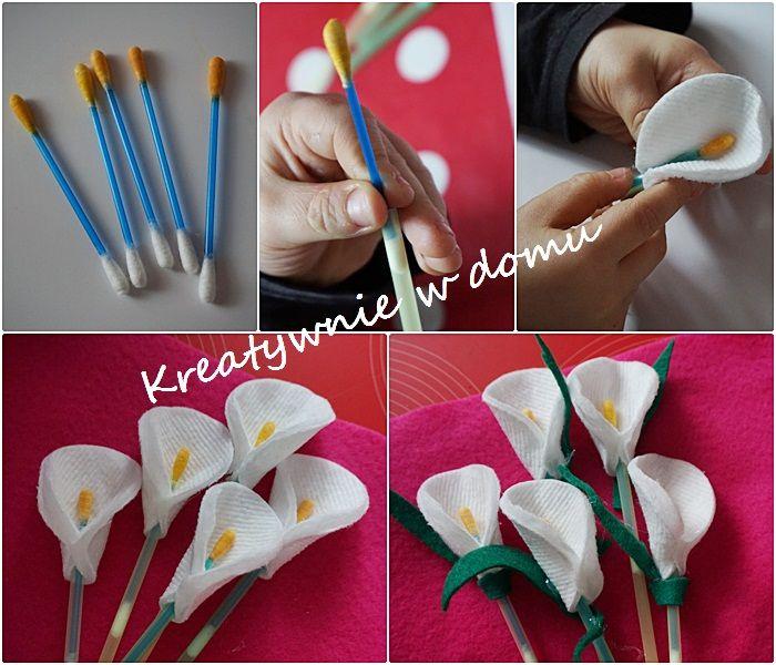 Bukiet kwiatów dla babci albo mamy | Kreatywnie w domu
