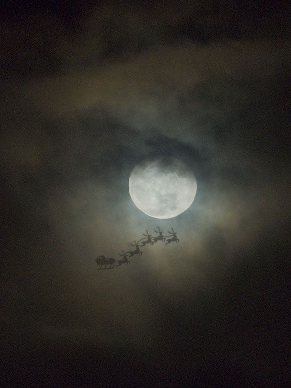 It's Christmas Eve. As the whole world follows Santa's journey around the globe-oops there goes the internet! Merry Christmas Eve. From GotMyHappy.com