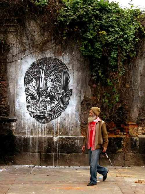 Street art. The Wooster Collective was founded in 2001. This site is dedicated to showcasing and celebrating ephemeral art placed on streets in cities around the world.