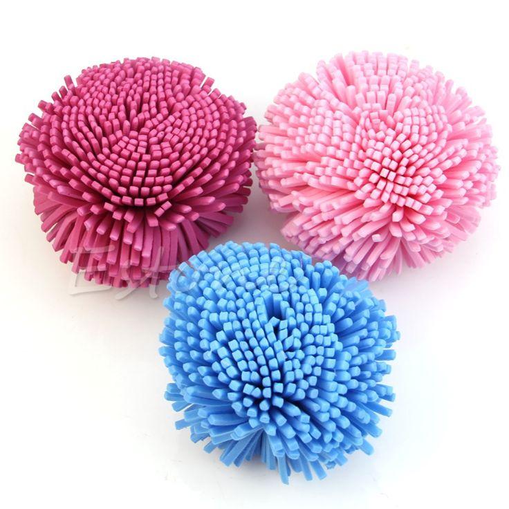 Soft Sponge Puff Ball for Bath Shower Clean Body Skin Exfoliation