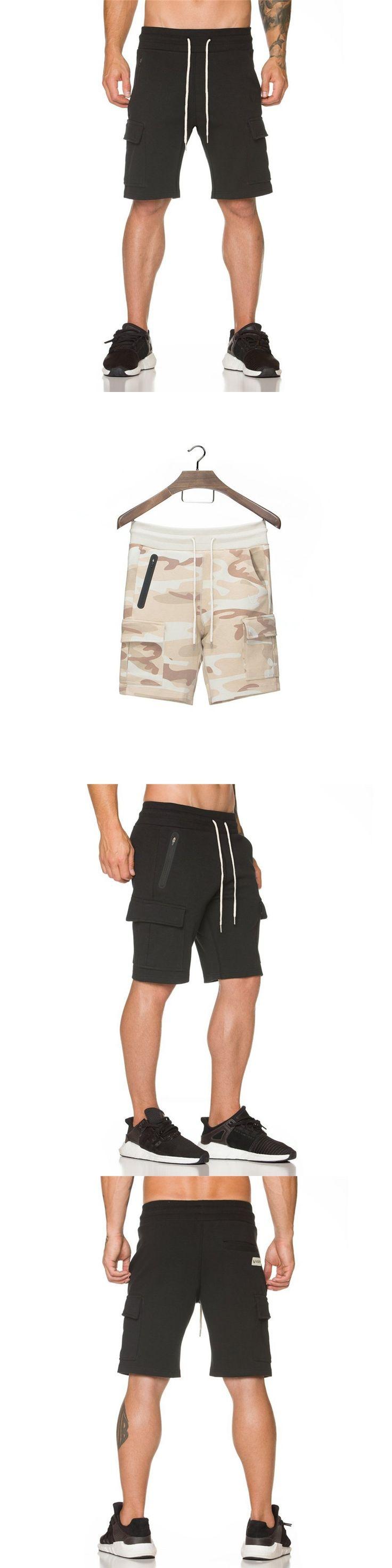 New Fashion Men Sporting Shorts Trousers Cotton Bodybuilding Sweatpants Fitness Short Jogger Casual Gyms Men Shorts
