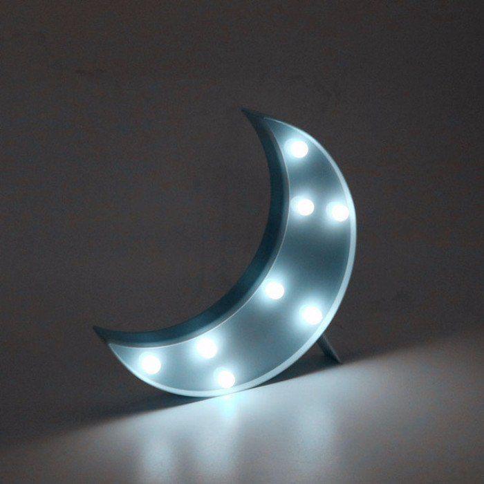 Luminária Lua de LED