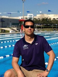 Coach Ozzie is originally from Venezuela. Ozzie was a member of the Venezuelan National Swimming Team from 1987-2004 and represented Venezuela in the 2000 Sydney Olympic Games.