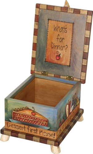 Decorative Recipe Boxes Custom 434 Best Recipe Boxes Vintage Etcimages On Pinterest Inspiration Design