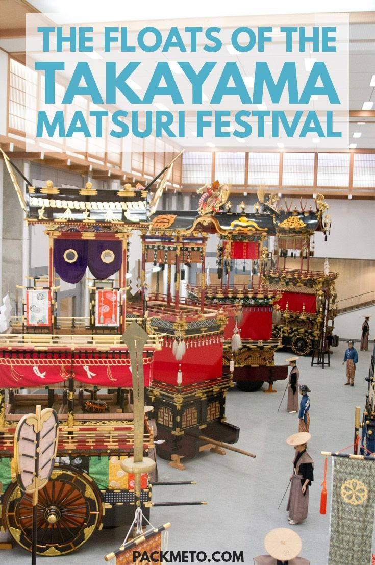 Missed out on seeing the famous Takayama Matsuri festival? You can still see the floats inside the Takayama Festival Floats Exhibition Hall year round.