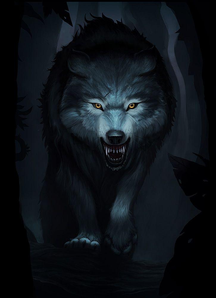 Самый страшный картинка волк